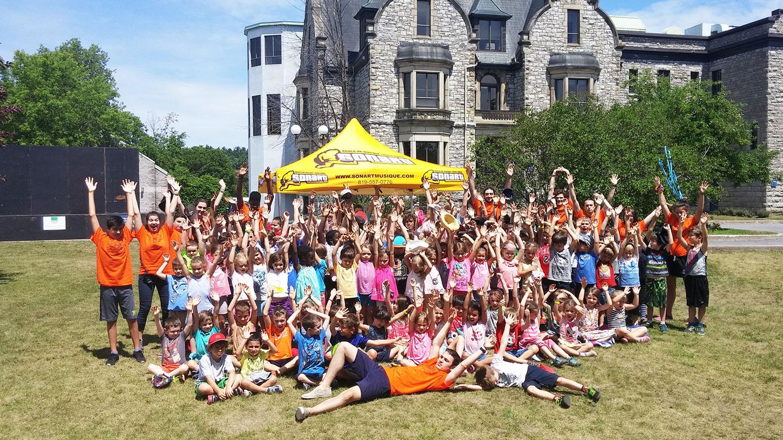 Camp de jour musical Sonart au Conservatoire de musique de Gatineau – Gatineau Outaouais